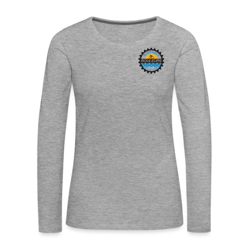 Guernsey Rouleurs Small Logo - Women's Premium Longsleeve Shirt