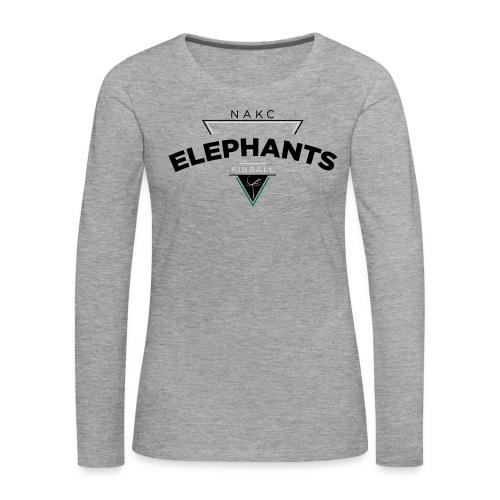 Triangle - T-shirt manches longues Premium Femme