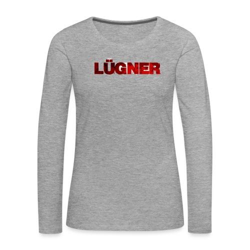 luegner png - Frauen Premium Langarmshirt