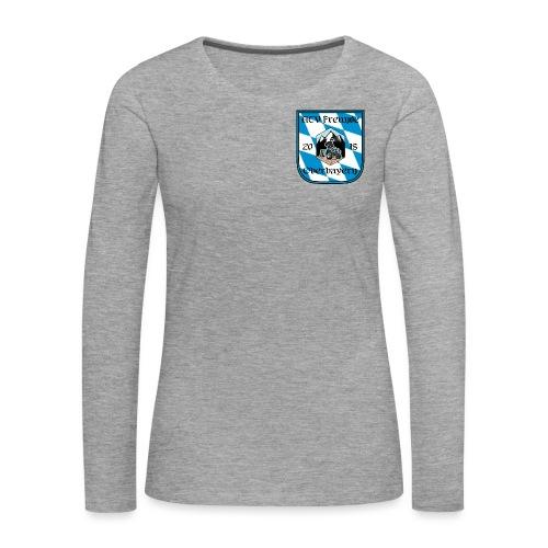 ATV Freunde Oberbayern Logo - Frauen Premium Langarmshirt