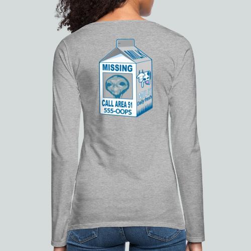 Missing: alien - T-shirt manches longues Premium Femme