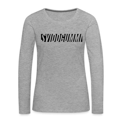 Uten_navn-2 - Premium langermet T-skjorte for kvinner