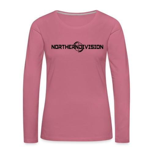 ND CROSSHAIR_TEKSTI_2017 - Naisten premium pitkähihainen t-paita
