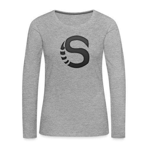 ScorpyArtZ Logo New shirt png - Vrouwen Premium shirt met lange mouwen