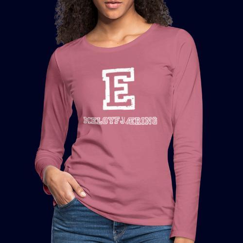 E - Meløyfjæring - Premium langermet T-skjorte for kvinner