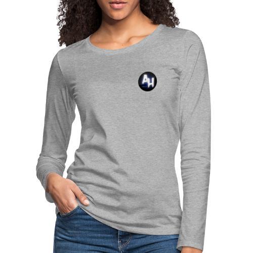 gamel design - Dame premium T-shirt med lange ærmer