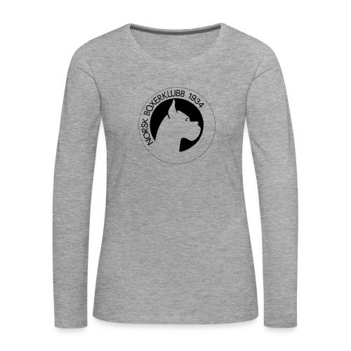 NBK-trace - Premium langermet T-skjorte for kvinner