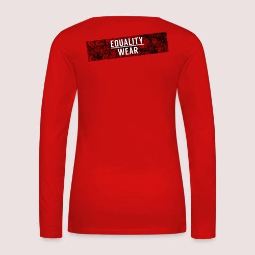 Equality Wear Long Rose Print Edition - Women's Premium Longsleeve Shirt
