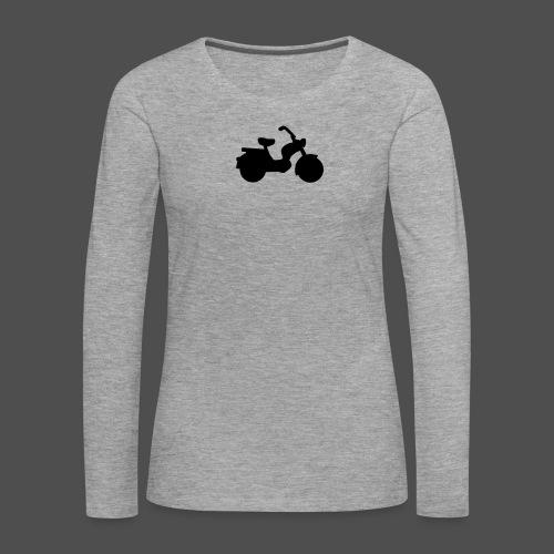 Mofa 9MO11 - Koszulka damska Premium z długim rękawem