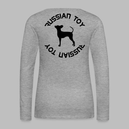 lk teksti - Naisten premium pitkähihainen t-paita