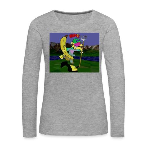 Bruno II - Premium langermet T-skjorte for kvinner