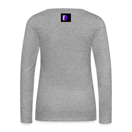 LOGO VETEMENTS png - T-shirt manches longues Premium Femme
