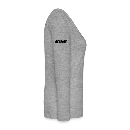 yogabyxor1 - Långärmad premium-T-shirt dam