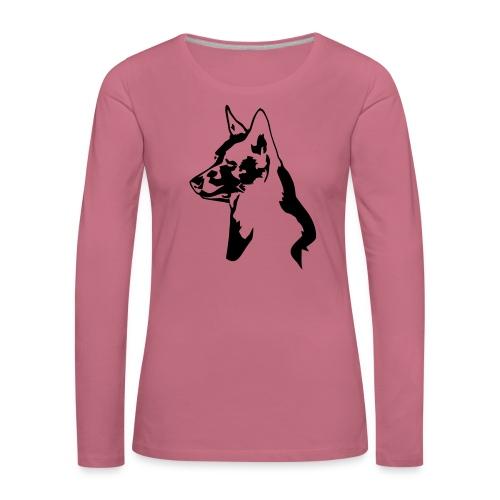 australiankelpie - Naisten premium pitkähihainen t-paita