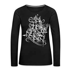 Make Graffiti Great Again - Frauen Premium Langarmshirt