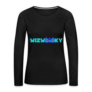 The Official Wizwooky - Women's Premium Longsleeve Shirt