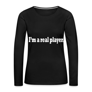 PLAYER - Women's Premium Longsleeve Shirt