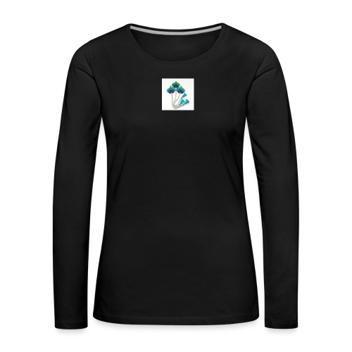Peacock feather - Women's Premium Longsleeve Shirt