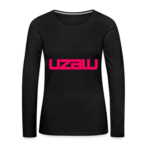 uzalu - Pink - Women's Premium Longsleeve Shirt