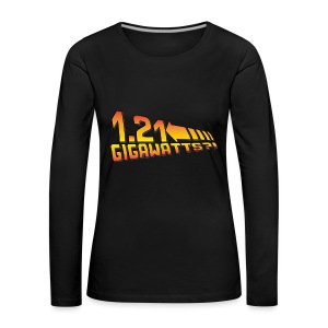 1.21 Gigawatts - Frauen Premium Langarmshirt