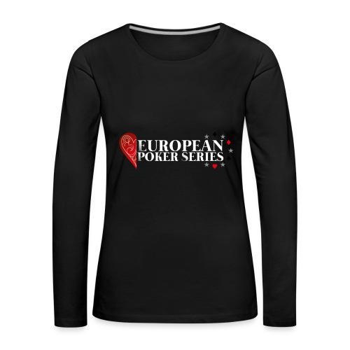 European Poker Series - T-shirt manches longues Premium Femme