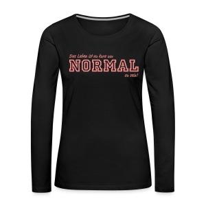 NORMAL - Frauen Premium Langarmshirt