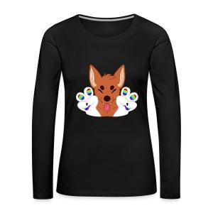Magic's Gay Peace Fingers - Women's Premium Longsleeve Shirt