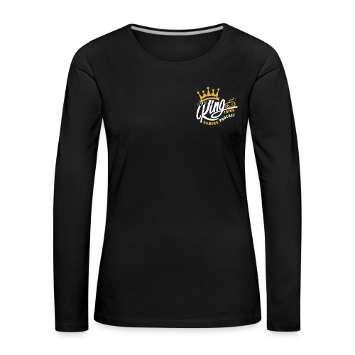That King Thing Logo - Women's Premium Longsleeve Shirt