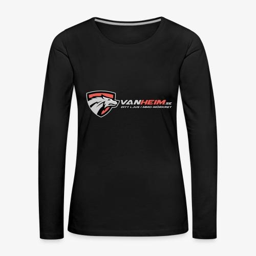 Vanheim liten - Långärmad premium-T-shirt dam