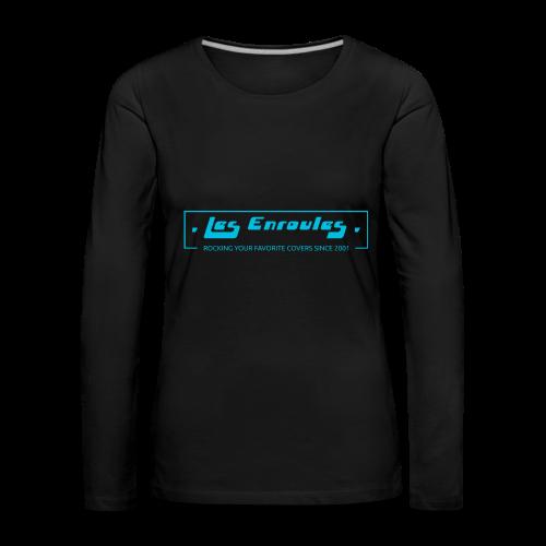 Rocking since 2001 - Blue - T-shirt manches longues Premium Femme
