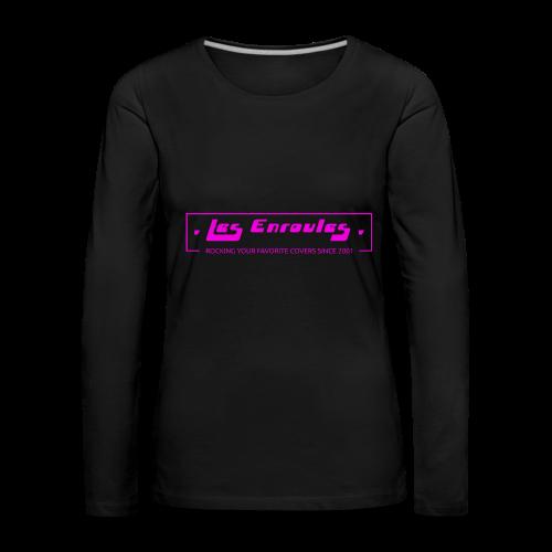Rocking since 2001! Pink - T-shirt manches longues Premium Femme