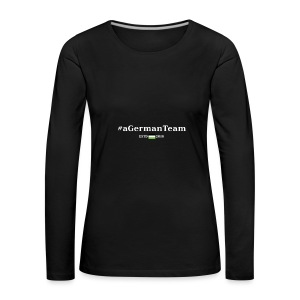 aGermanTeam_white - Frauen Premium Langarmshirt