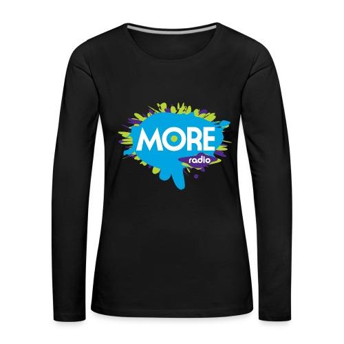 More Radio 2017 - Vrouwen Premium shirt met lange mouwen