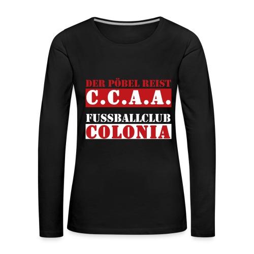 CCAA - Frauen Premium Langarmshirt