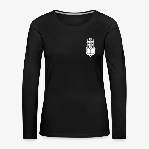 INDES Logo - Frauen Premium Langarmshirt