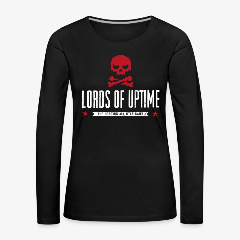Lords of Uptime - Frauen Premium Langarmshirt