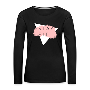 STAYFIT Collection - Premium langermet T-skjorte for kvinner