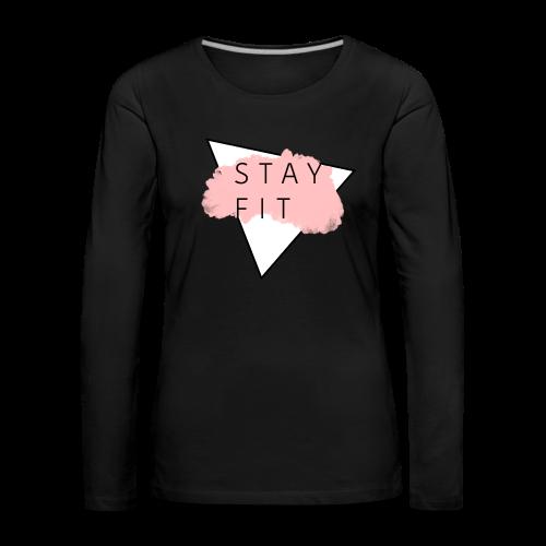STAYFIT Collection - Premium langermet T-skjorte for kvinner