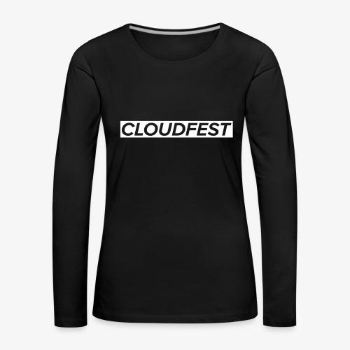 Cloud Festival - Women's Premium Longsleeve Shirt