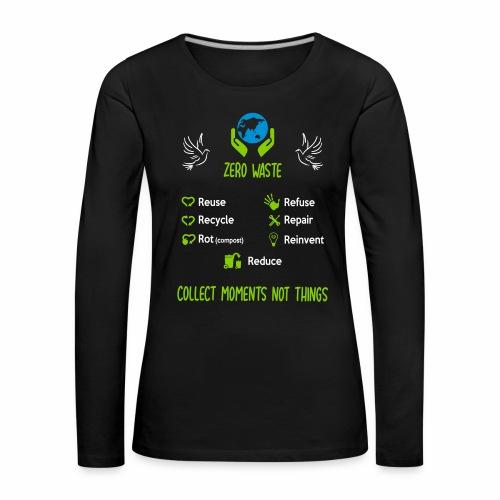 0 de chet face - T-shirt manches longues Premium Femme
