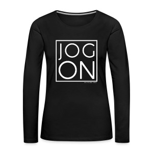 JOG ON - Women's Premium Longsleeve Shirt