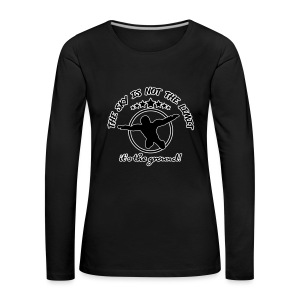The sky is the Limit - Frauen Premium Langarmshirt