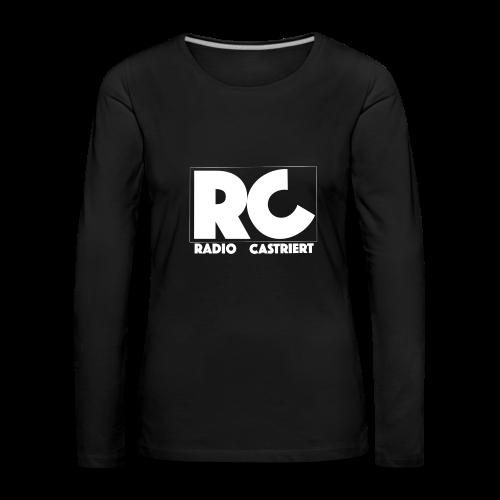 Radio CASTriert Logo 2017/2018 - Frauen Premium Langarmshirt