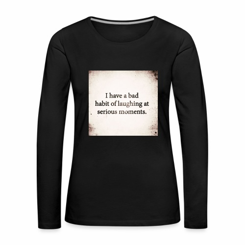 emotions - Women's Premium Longsleeve Shirt
