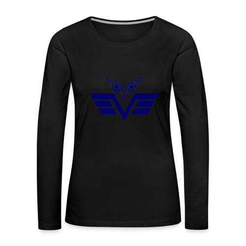 blue owl - Women's Premium Longsleeve Shirt