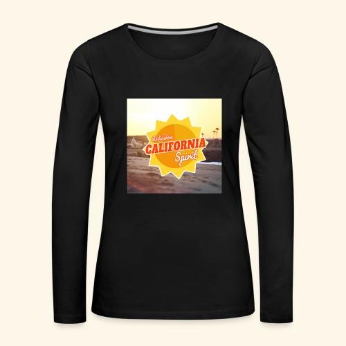 SunRise - T-shirt manches longues Premium Femme