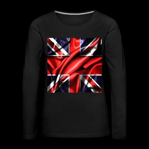 Union Jack design - Women's Premium Longsleeve Shirt