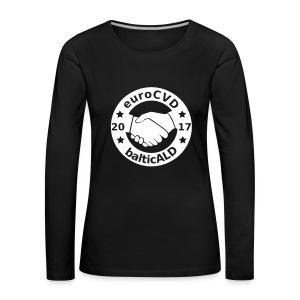 Joint EuroCVD - BalticALD conference mens t-shirt - Women's Premium Longsleeve Shirt