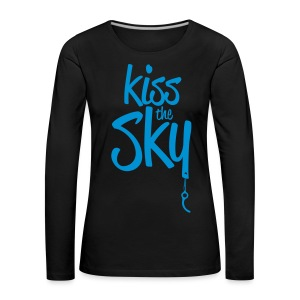 kiss the sky *2018* - Frauen Premium Langarmshirt