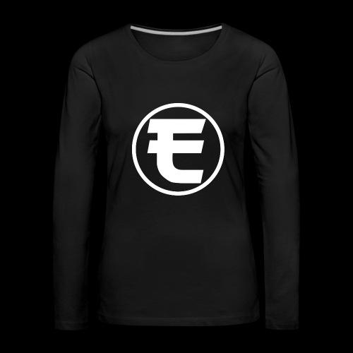 Evanus Shirt Officieel - Vrouwen Premium shirt met lange mouwen